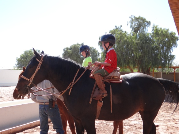 Jack and Me on horses
