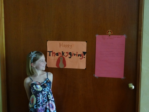 Madie's Thanksgiving Artwork