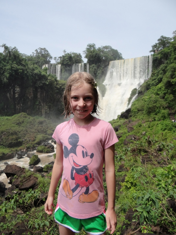 Madie at the falls