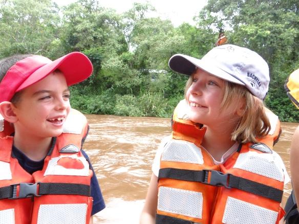 Canoe trip Iguazu