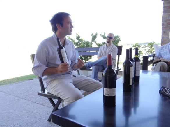 Winetasting Achavael