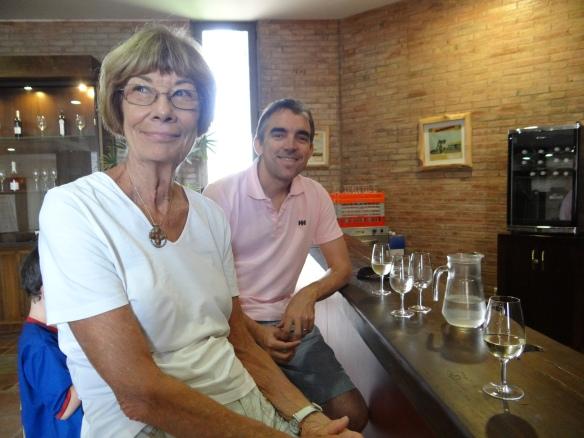 Winetasting Belasco de Baquedano