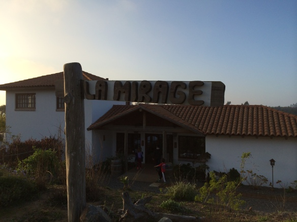 Exterior of La Mirage Hotel in Agarrobo